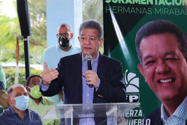 Leonel Fernández: el PLD se emborrachó de poder y por eso está pasando situaciones difíciles