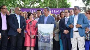 Leonel Fernández dice en la unidad del PLD está clave del seguro triunfo electoral en el 2020.