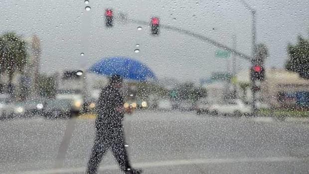 Incrementos en las probabilidades de lluvia por vaguada