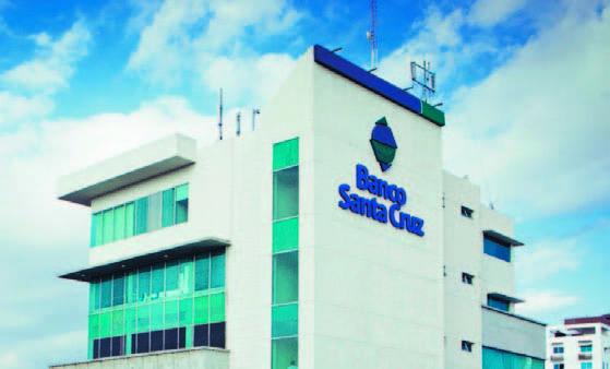 Activos de Banco Santa Cruz aumentan en un 29%