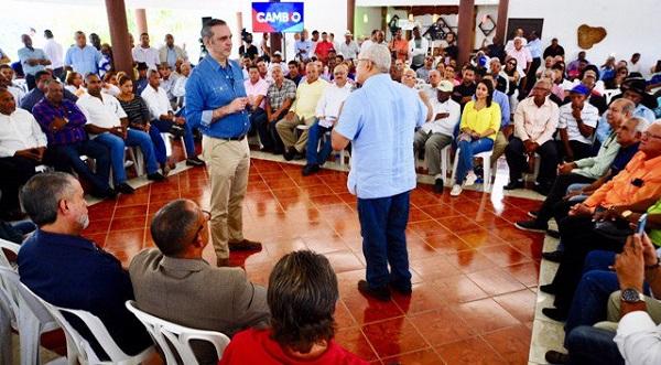 Luis Abinader garantiza gobierno presidido por él bajará 30% precios de alimentos