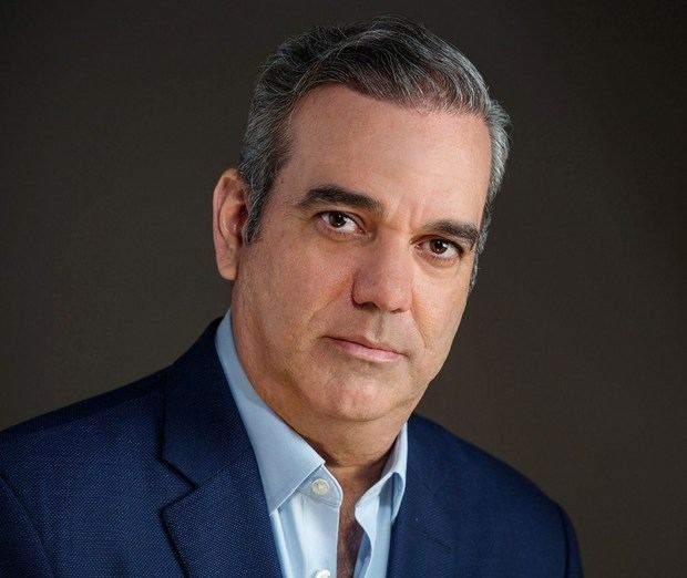 Luis Abinader, aspirante por la nominación a la candidatura presidencial  Partido Revolucionario Moderno, PRM.
