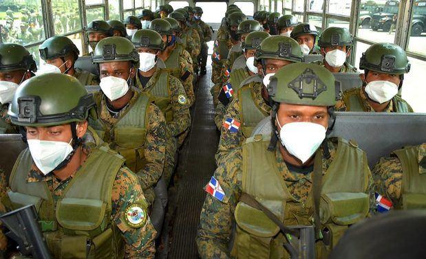 Abinader ordena a militares de la frontera a resistir presiones de políticos