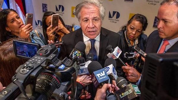 Luis Almagro cree que hablar de diálogo en Venezuela es