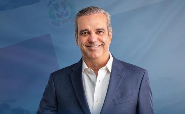 Luis Abinader, candidato a la presidencia por el Partido Revolucionario Moderno (PRM).