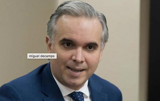 Luis Miguel De Camps, presidente Partido Revolucionario Social Demócrata, PRSD.