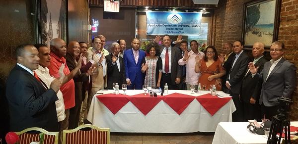Destacados periodistas dominicanos encabezan comité Adompretur Nueva York