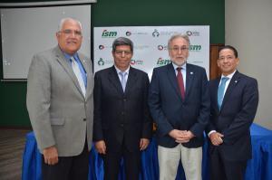 Luis Lembert, Enrique Rosas, Enrique Rosales y Adrian Guzmán.