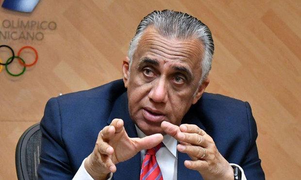 Presidente del Comité Olímpico Dominicano, COD, Luis Mejía.