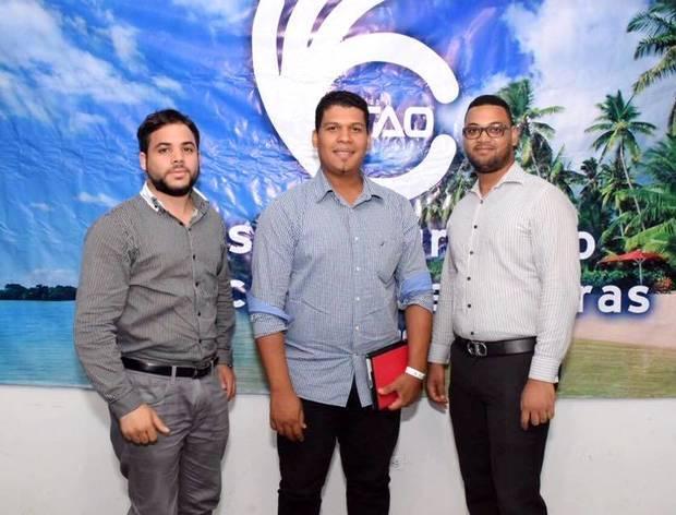 Luis Miguel Castillo, Ariel de la Cruz y Gerson Polanco