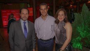 Luis Paniagua, Luis García Dubus y Brenda García Dubus