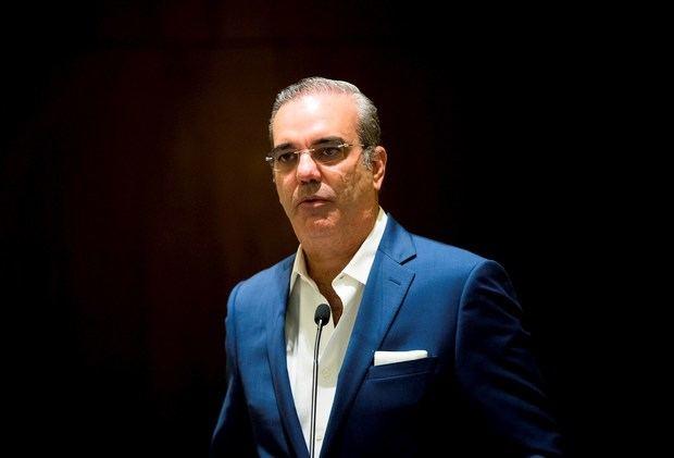 El presidente Luis Abinader presentó este martes su declaración jurada de bienes.