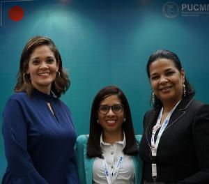 Luisa Taveras, Elvira Lora e Yvette Marichal