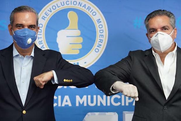 Cabrera anuncia su apoyo a la candidatura de Abinader