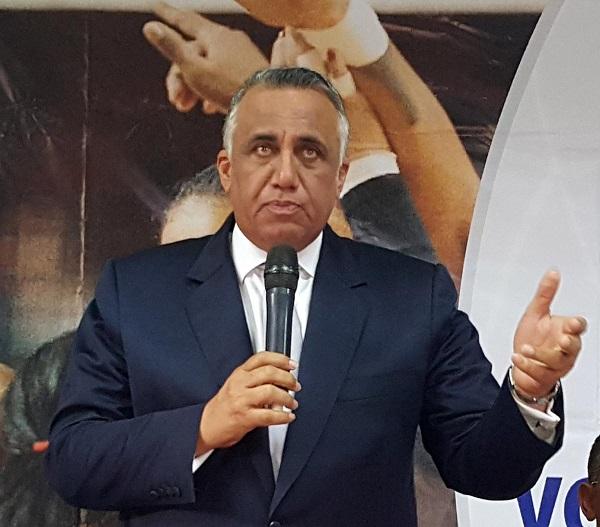 Luis Mejía Oviedo, presidente del COD actual