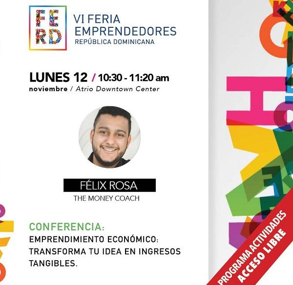 Programa VI Feria de Emprendedores