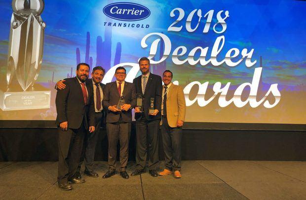 Empresa es reconocida por la prestigiosa firma Carrier Transicold