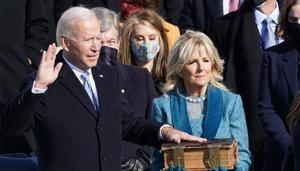 Toma de posesión de Joe Biden.