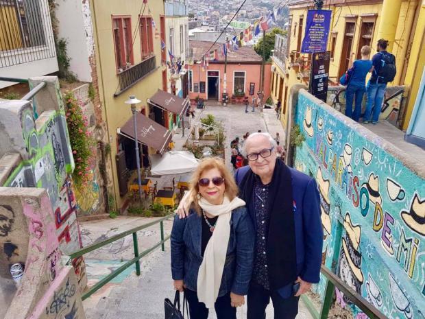 Luis Sánchez-Noble y Mildred Bergés: una pareja unida frente a los retos