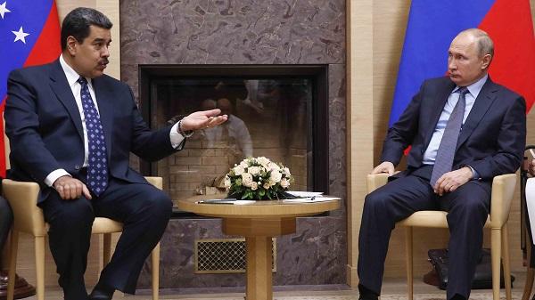 Maduro arranca a Putin apoyo diplomático