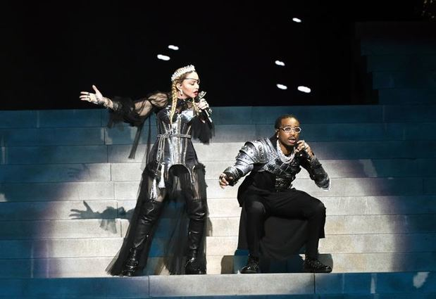 Así fue la histórica participación de Madonna en la gran final de Eurovision 2019.