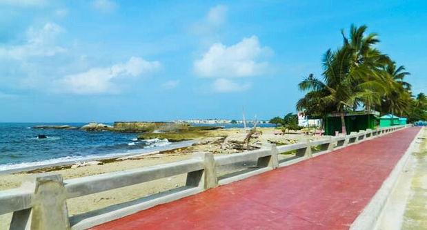 Malecón de San Pedro de Macorís.