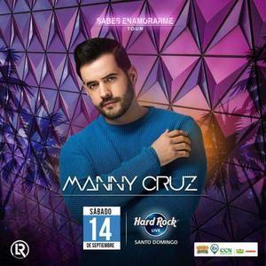 Concierto Manny Cruz en vivo.