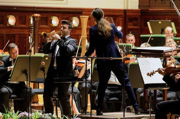 El trompetista Manuel Blanco, uno de los cinco solistas mundiales más prestigiosos del momento.