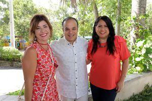 María Paula Miquel, Fausto Fontana y Marchina Hernández.