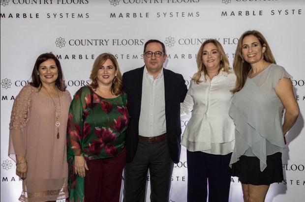 Marjorie Mederos, María Isabel Carballo, Munir Turünc, Paola Pimentel, Jennifer Pineda Bolivar.Jennifer Pineda Bolivar