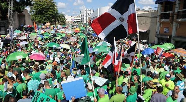 PRM anuncia respaldo a 'Marcha del millón contra corrupción' de Marcha Verde