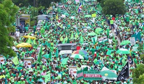 Marcha Verde pide sacar a supuestos corruptos de la Suprema Corte de Justicia