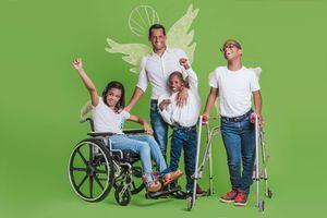 Marcos Díaz también acompañar a los niños y niñas de la Fundación Nido para Ángeles este 27 de octubre.
