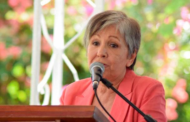 Periodista dominicana Margarita Cordero.