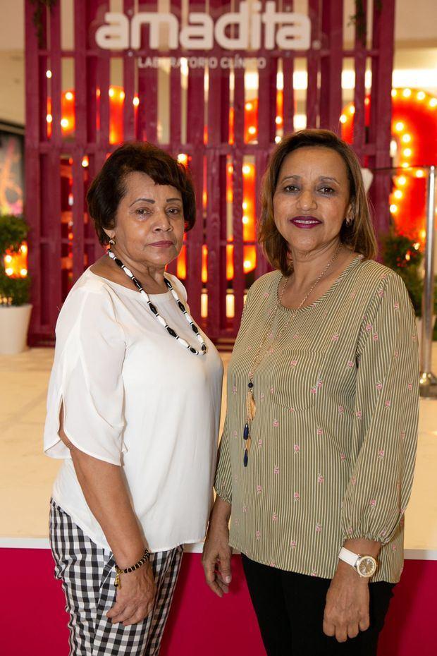 Margarita Mateo y Ana Rita Fabián.