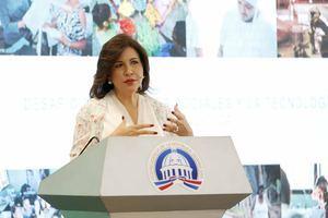 Vicepresidenta de la República, doctora Margarita Cedeño.