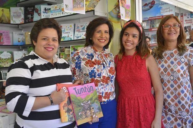 Vicepresidenta valora participación dominicana durante Feria del Libro de Madrid