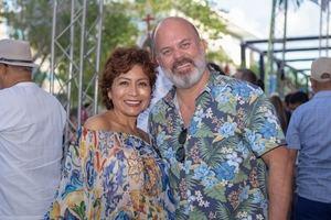 Mariam Hernández y Guillermo Marín
