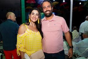 Marjorie de Suero y Francisco Suero