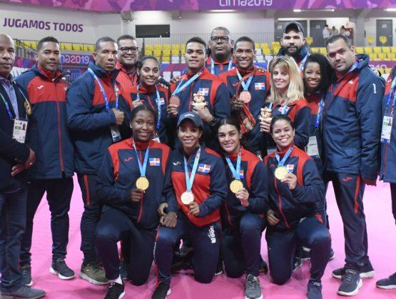 Ajuste final en el medallero: República Dominicana en 9o. lugar de Lima 2019