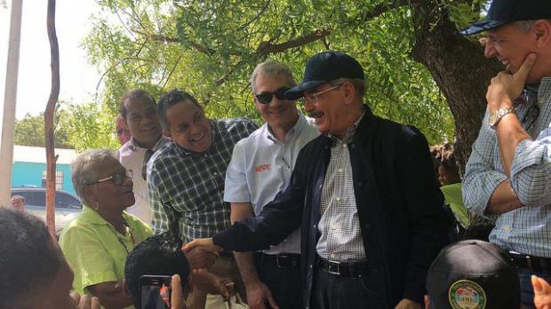 Presidente visitó Tierra Nueva, Jimaní y Duvergé