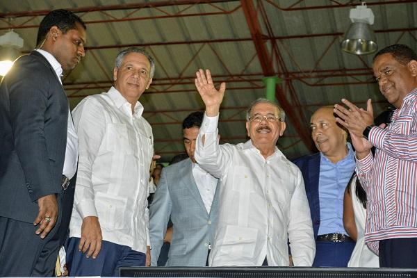 Presidente Danilo Medina deja iniciados XIV Juegos Deportivos Nacionales Hermanas Mirabal 2018