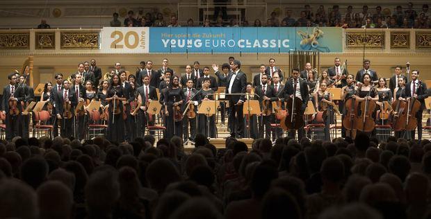 Orquesta Sinfónica Nacional Juvenil, Konzerthaus, Berlín.