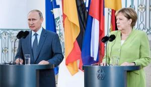 Putín y Merkel