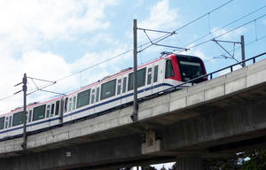 El Gobierno planea extender el metro hasta Los Alcarrizos y Los Mameyes.