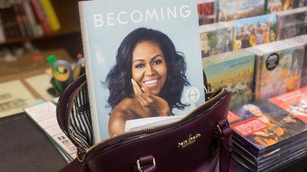 Libro de Michelle Obama.