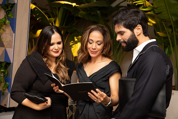 Michelle Utrecho, Liza Ortega y Andres Aybar