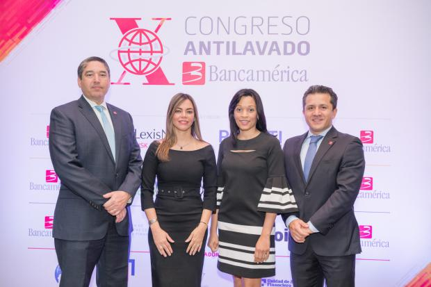 Miguel Fernández, Evelyn Calderón, Rocío Valdez y Orlando González.