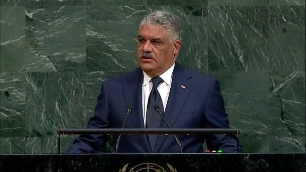 Canciller Miguel Vargas destaca la importancia de la ONU en el desarrollo mundial.