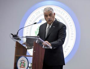 El canciller de República Dominicana, Miguel Vargas Maldonado.